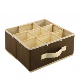 Κουτί Τακτοποίησης 9 Θέσεων εstia 03-0714 Brown