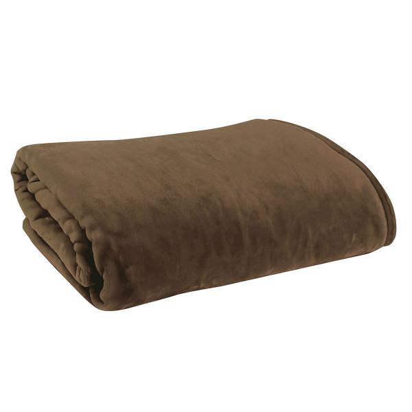Κουβέρτα Βελουτέ Υπέρδιπλη Nef-Nef Loft 1109 Brown