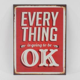 Διακοσμητική Ταμπέλα CL Everything 3-90-104-0009