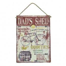 Διακοσμητική Ταμπέλα CL Dad's Shed 3-90-773-0107