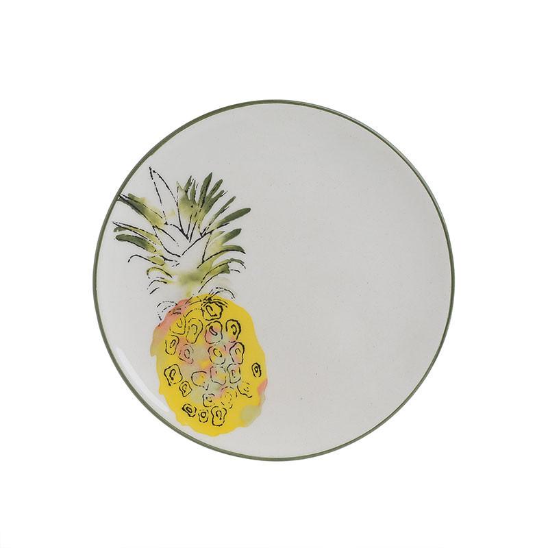 Πιάτα Φρούτου (Σετ 6τμχ) CL Pineapple 6-60-017-0014 home   κουζίνα   τραπεζαρία   πιάτα   μπωλ