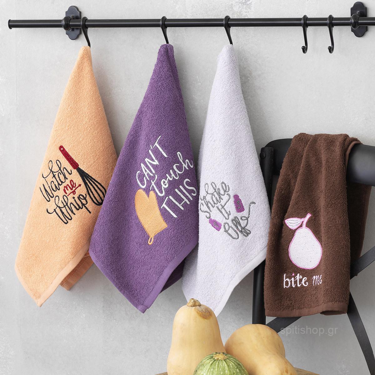 Πετσέτες Κουζίνας (Σετ 4τμχ) Palamaiki KT080