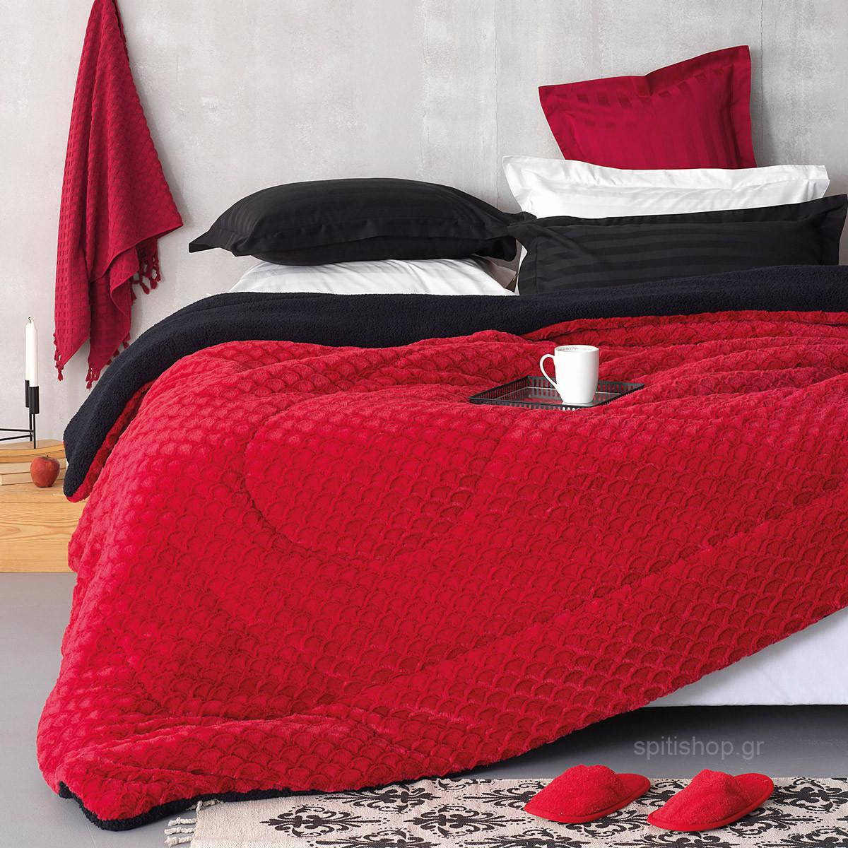 Κουβερτοπάπλωμα Υπέρδιπλο Palamaiki Lyria home   κρεβατοκάμαρα   παπλώματα   κουβερτοπαπλώματα