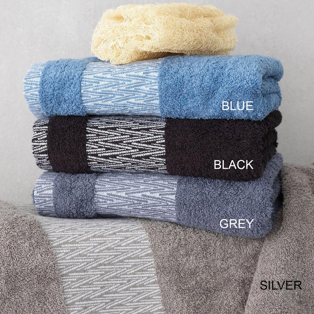 Πετσέτες Μπάνιου (Σετ 3τμχ) Palamaiki Towels Cruz home   μπάνιο   πετσέτες μπάνιου
