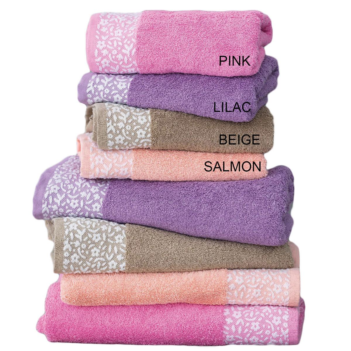 Πετσέτες Μπάνιου (Σετ 3τμχ) Palamaiki Towels Primavera