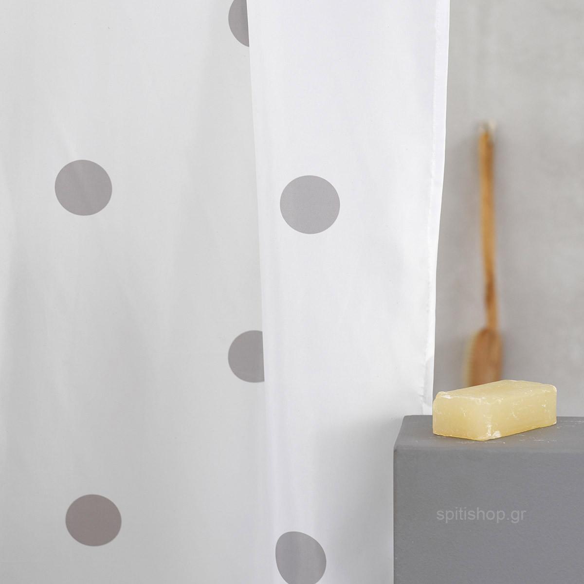 Κουρτίνα Μπάνιου (200×180) Palamaiki Point