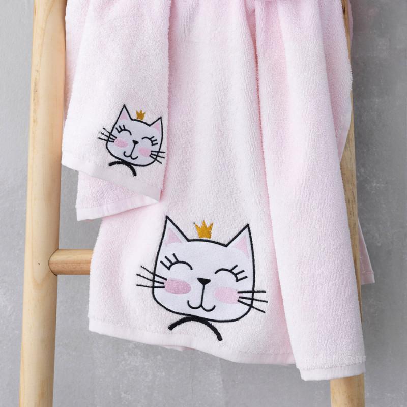 Βρεφικές Πετσέτες (Σετ 2τμχ) Palamaiki Cat