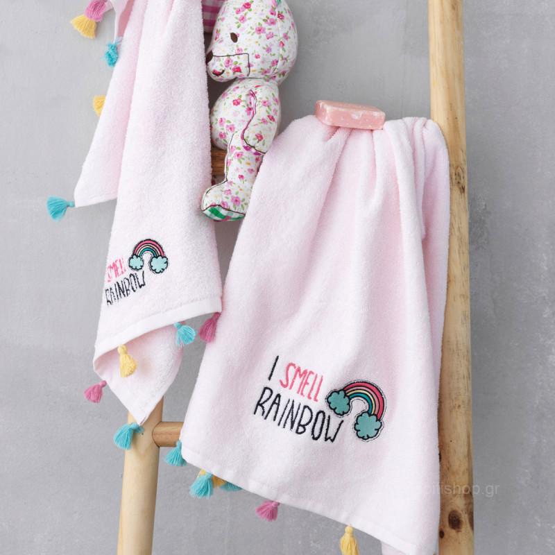Παιδικές Πετσέτες (Σετ 2τμχ) Palamaiki Rainbow