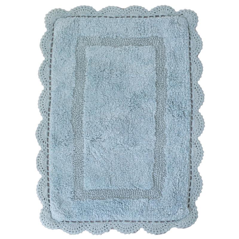 Πατάκι Μπάνιου (50x80) Palamaiki Shara Blue