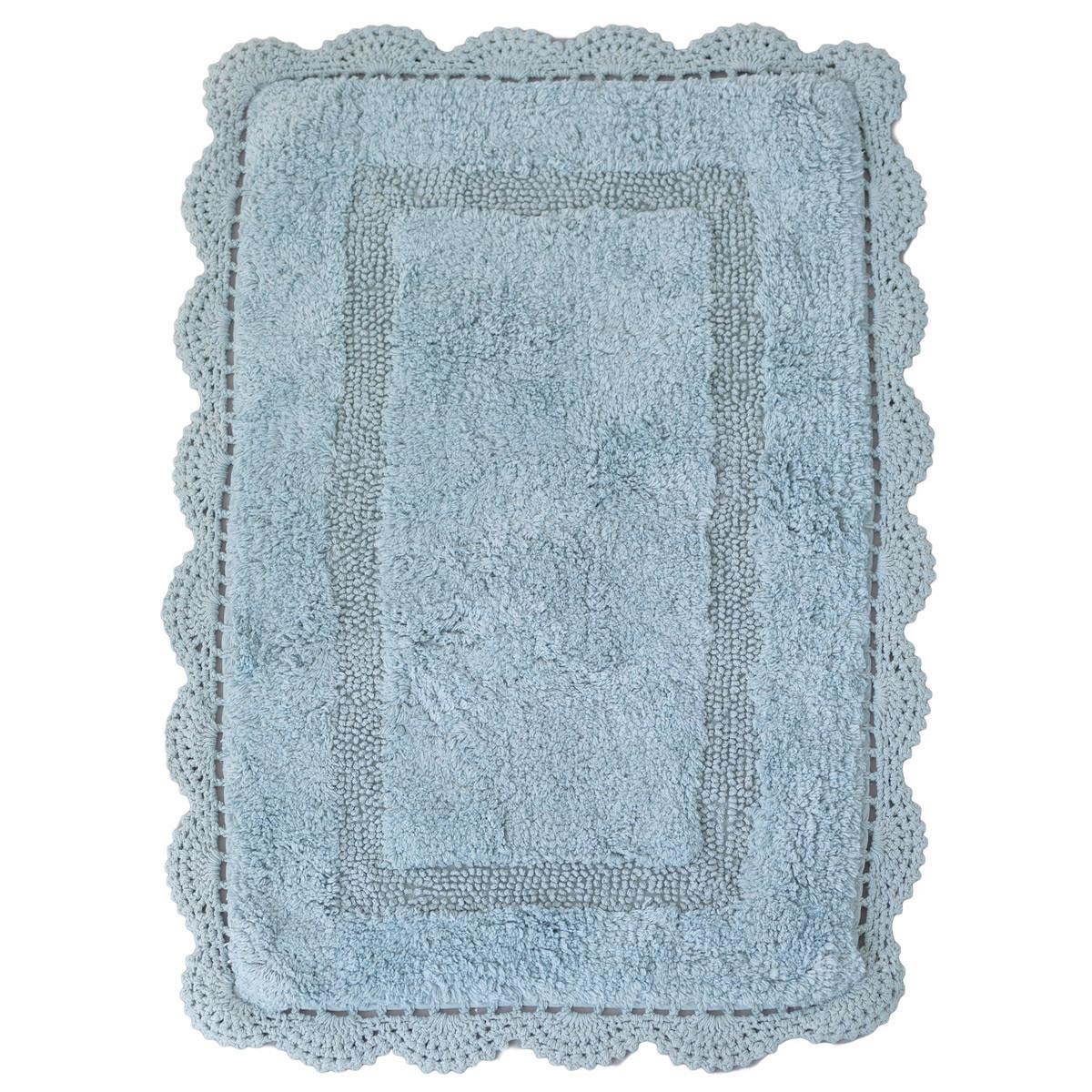 Πατάκι Μπάνιου (50×80) Palamaiki Shara Blue