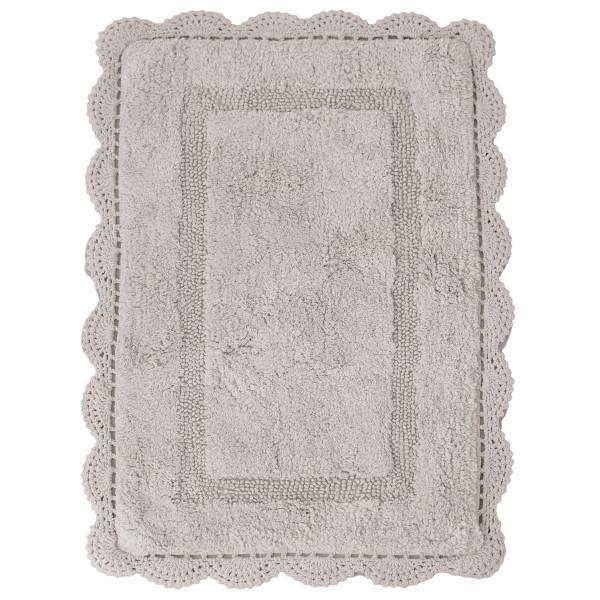Πατάκι Μπάνιου (50x80) Palamaiki Shara Silver