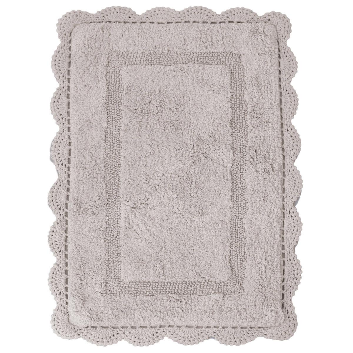 Πατάκι Μπάνιου (50×80) Palamaiki Shara Silver