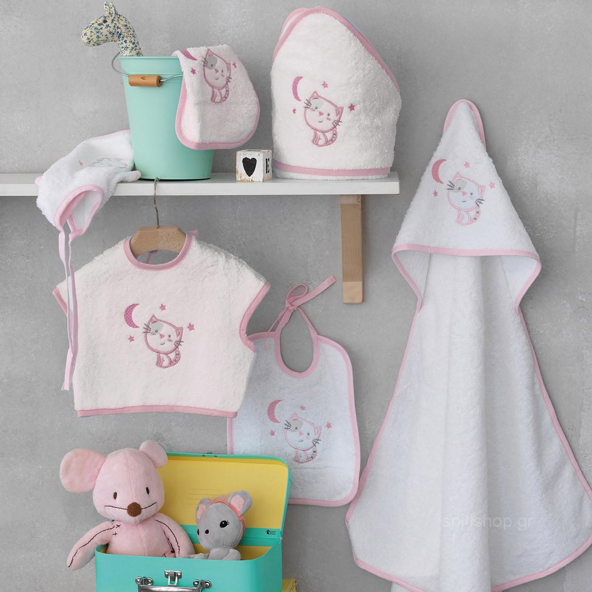 Βρεφικό Σετ Λουτρού Palamaiki Baby Joia 565 Pink