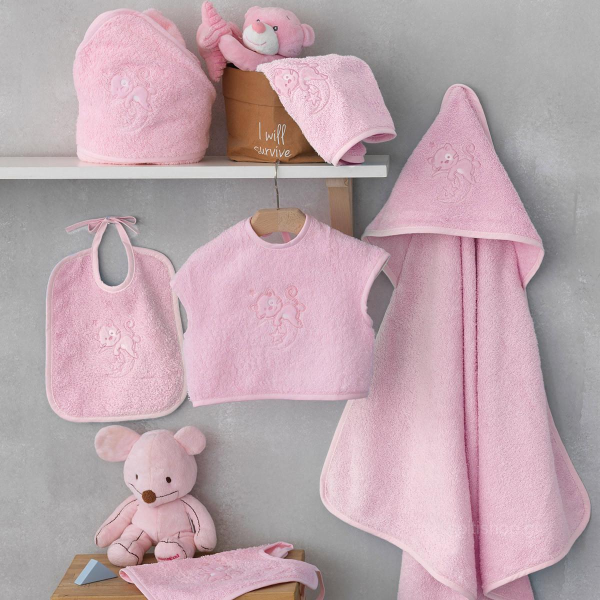 e9564dfc5df SpitiShop Βρεφικό Σετ Λουτρού Palamaiki Baby Joia 562 Pink