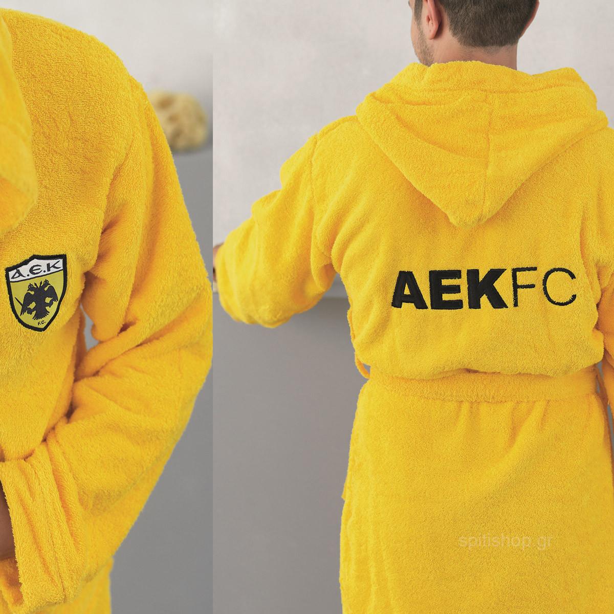 Παιδικό Μπουρνούζι Palamaiki FC AEK Young 12-14 12-14