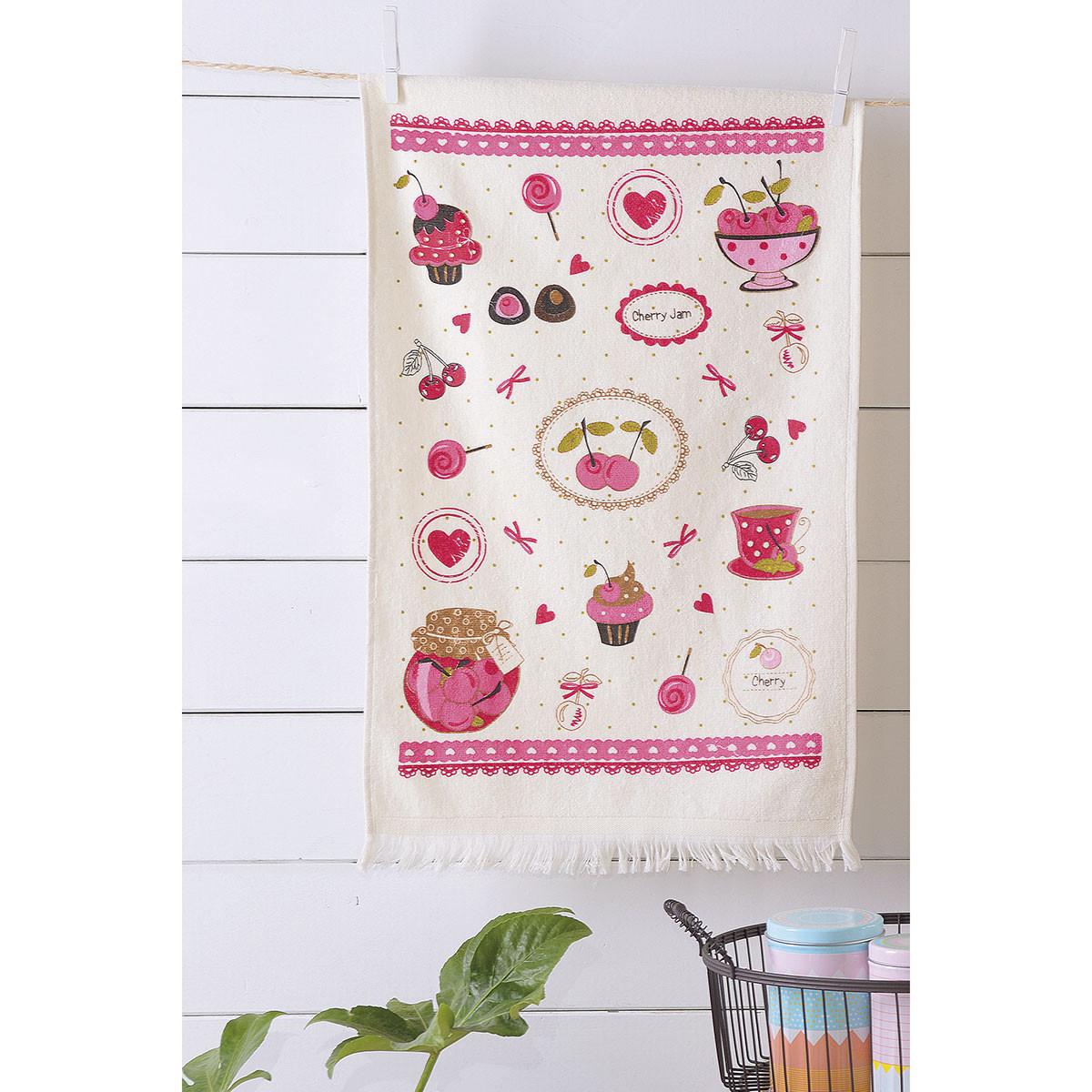 Πετσέτα Κουζίνας Rythmos Cherry