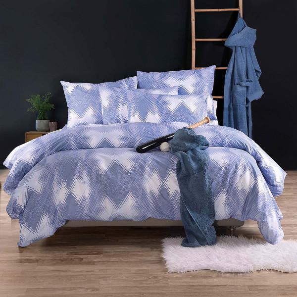 Σεντόνια Μονά (Σετ) Rythmos Nova Alden Blue