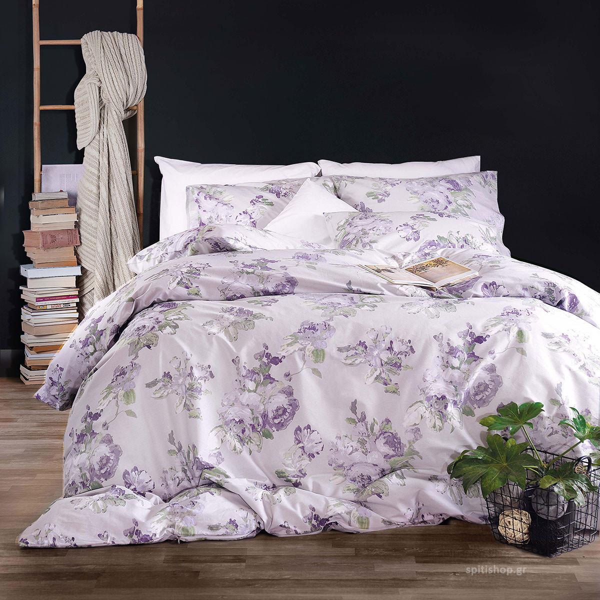 Κουβερλί Μονό (Σετ) Rythmos Diva Aeriella Lilac home   κρεβατοκάμαρα   κουβερλί   κουβερλί μονά