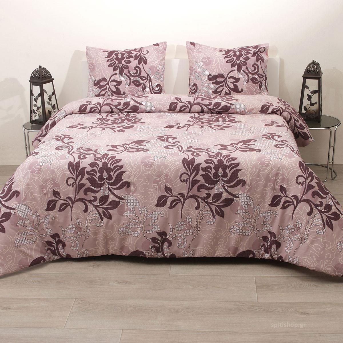 Πάπλωμα Ημίδιπλο (Σετ) Viopros Fresh Δάφνη home   κρεβατοκάμαρα   παπλώματα   παπλώματα ημίδιπλα   διπλά