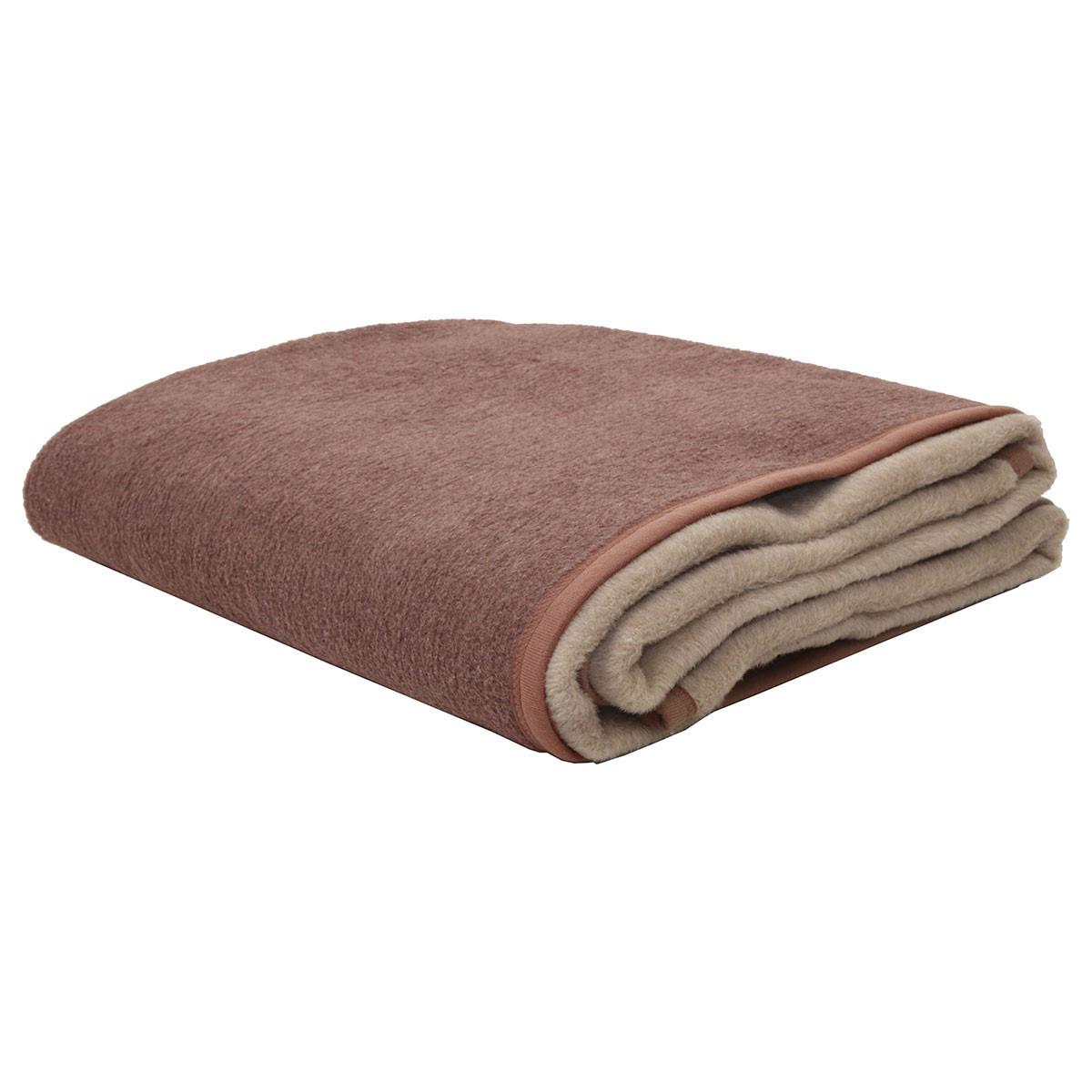 Κουβέρτα Ακρυλική Υπέρδιπλη 2 Όψεων Viopros Καστανό/Μπεζ home   κρεβατοκάμαρα   κουβέρτες   κουβέρτες βελουτέ υπέρδιπλες