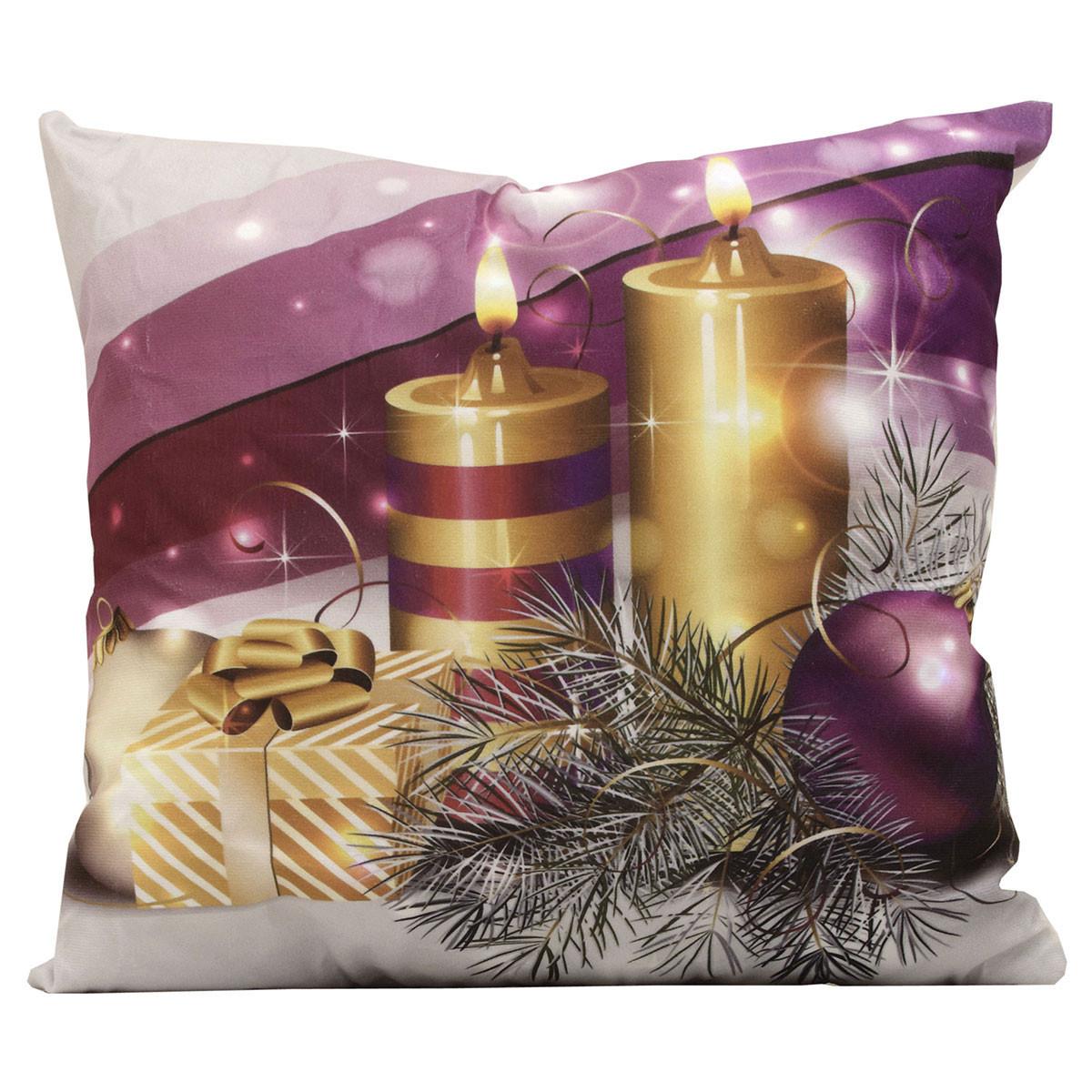 Χριστουγεννιάτικο Μαξιλάρι Viopros Led 315 home   χριστουγεννιάτικα   χριστουγεννιάτικα μαξιλάρια