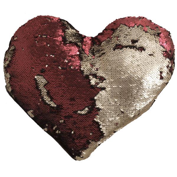 Διακοσμητικό Μαξιλάρι (40x35) Viopros Καρδιά Σχ 452