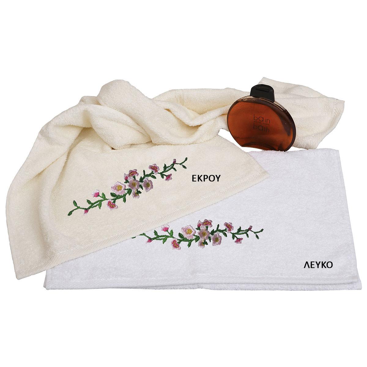 Πετσέτες Μπάνιου (Σετ 3τμχ) Viopros Bath Ideas Σχ 39