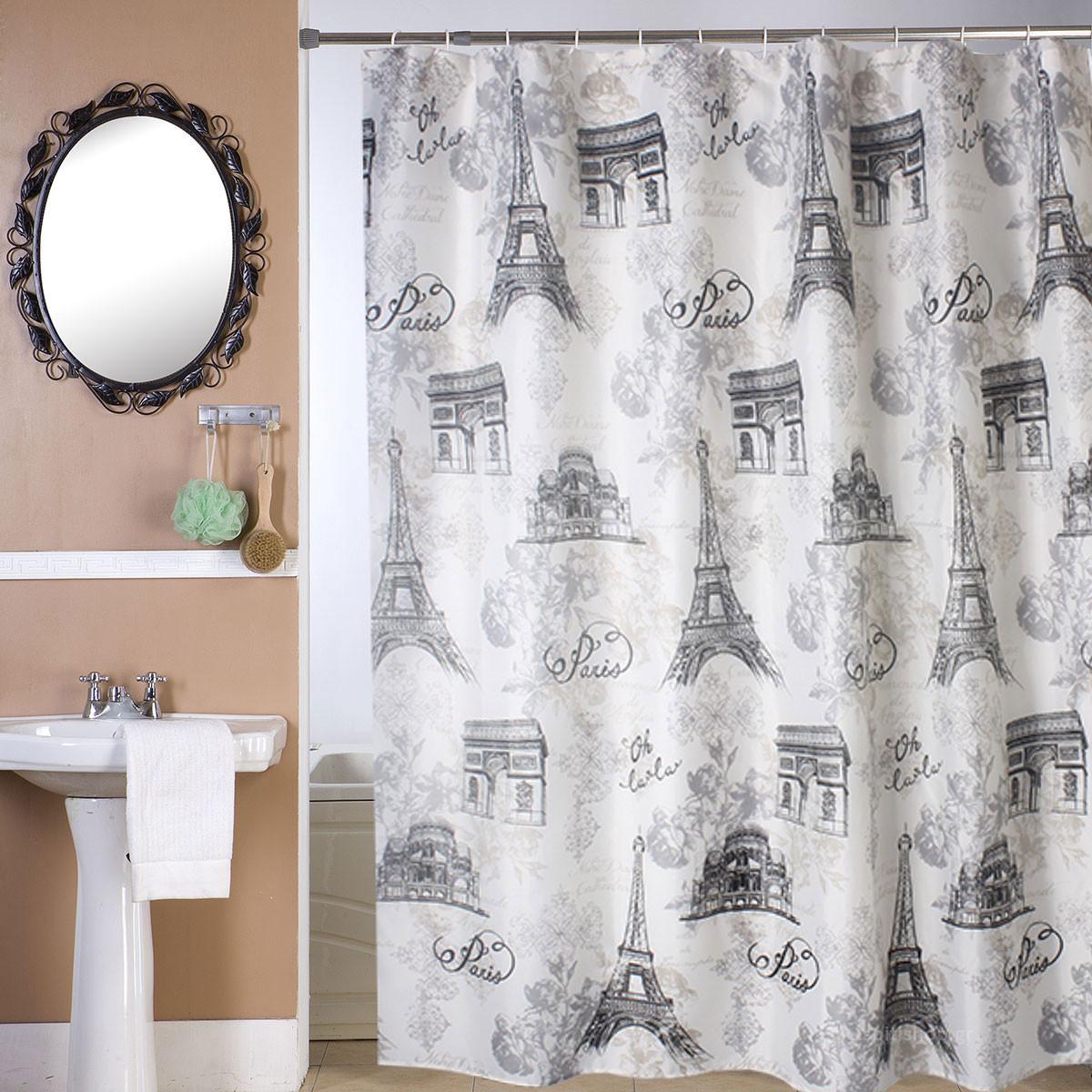 Κουρτίνα Μπάνιου (180×180) Viopros Τουρ