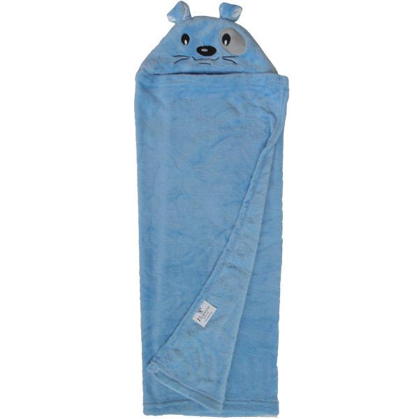 Κουβέρτα Fleece Με Κουκούλα Viopros Σχ 82