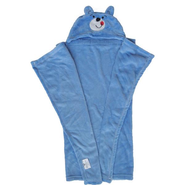 Κουβέρτα Fleece Με Κουκούλα Viopros Σχ 81