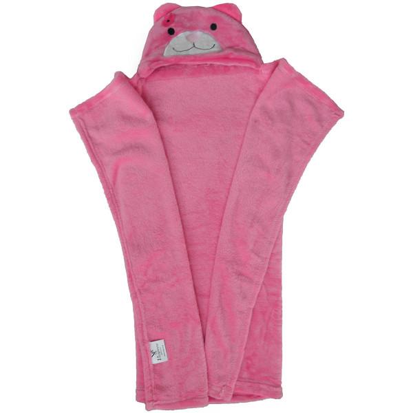 Κουβέρτα Fleece Με Κουκούλα Viopros Σχ 84