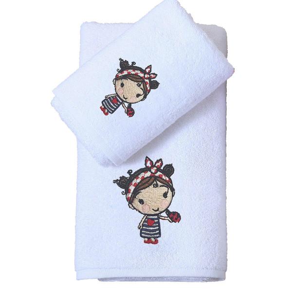 Παιδικές Πετσέτες (Σετ 2τμχ) Viopros Ματίλντα