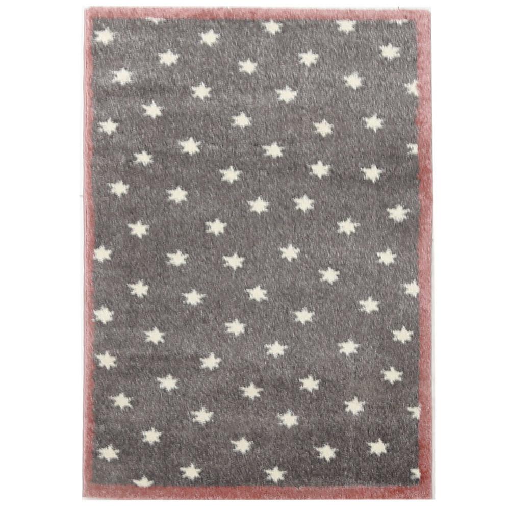 Παιδικό Χαλί (133x190) Royal Carpets Dream 23 Grey Pink