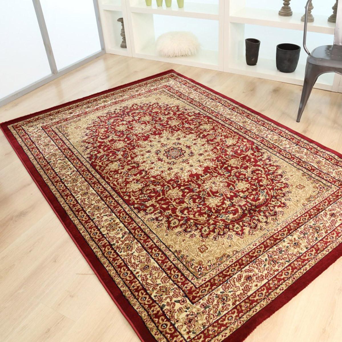 Χαλιά Κρεβατοκάμαρας (Σετ 3τμχ) Royal Carpets Olympia 6045A Red
