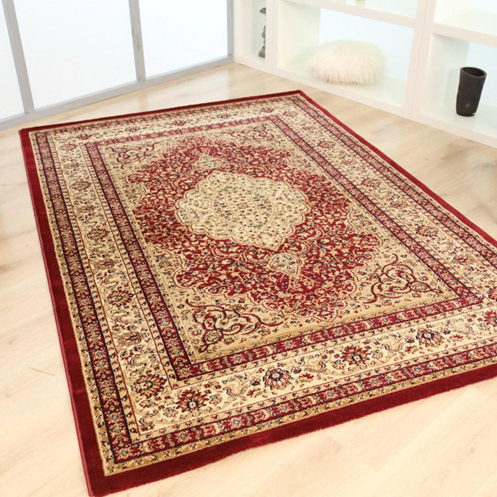 Χαλιά Κρεβατοκάμαρας (Σετ 3τμχ) Royal Carpets Olympia 7108E Red