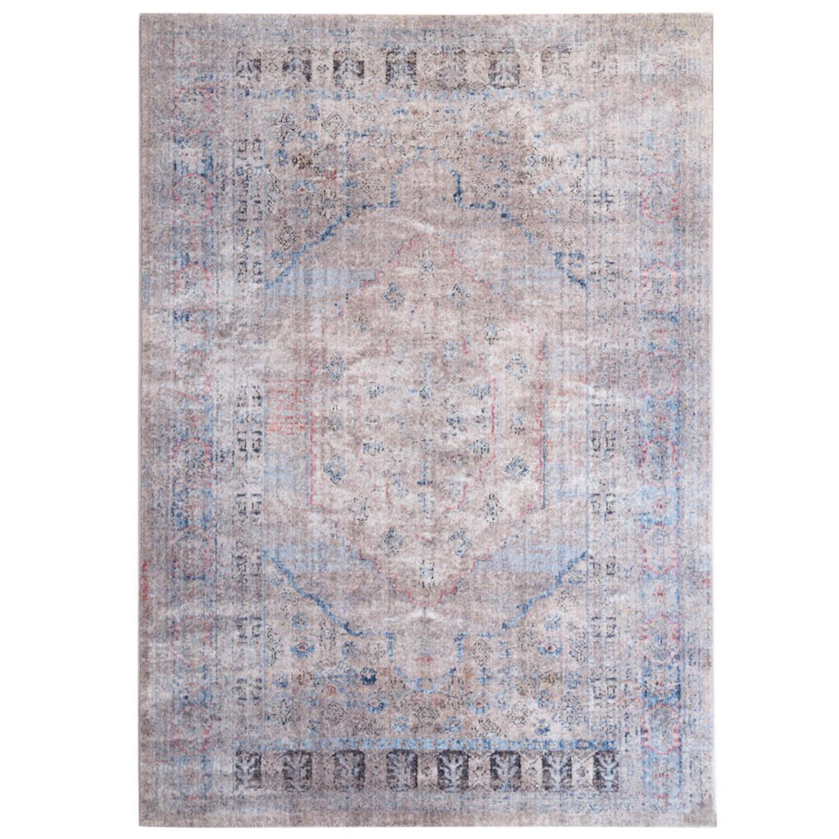 Χαλί (160×230) Royal Carpets Lumina Shrink 125A Blue C.Brown
