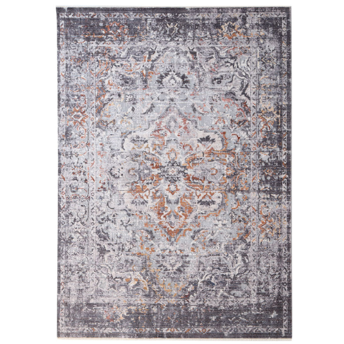 Χαλί All Season (160×234) Royal Carpets Rusty 481C Grey