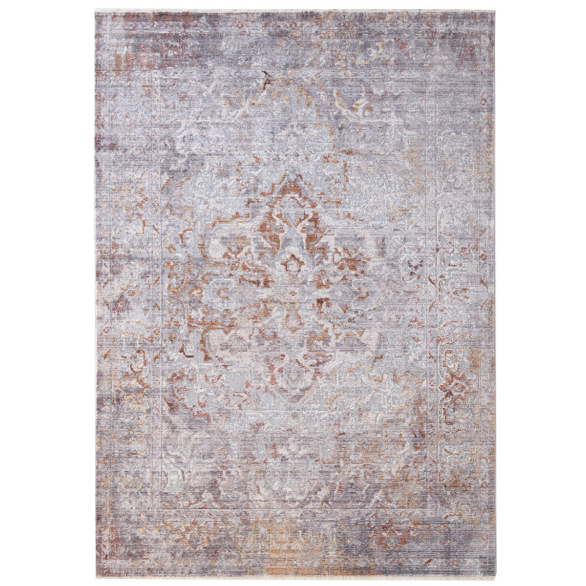 Χαλί All Season (140×204) Royal Carpets Rusty 481D Grey