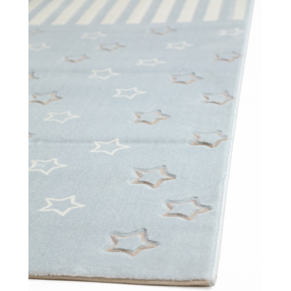 Παιδικό Χαλί (80x160) Royal Carpets Sky 6395D L.Blue