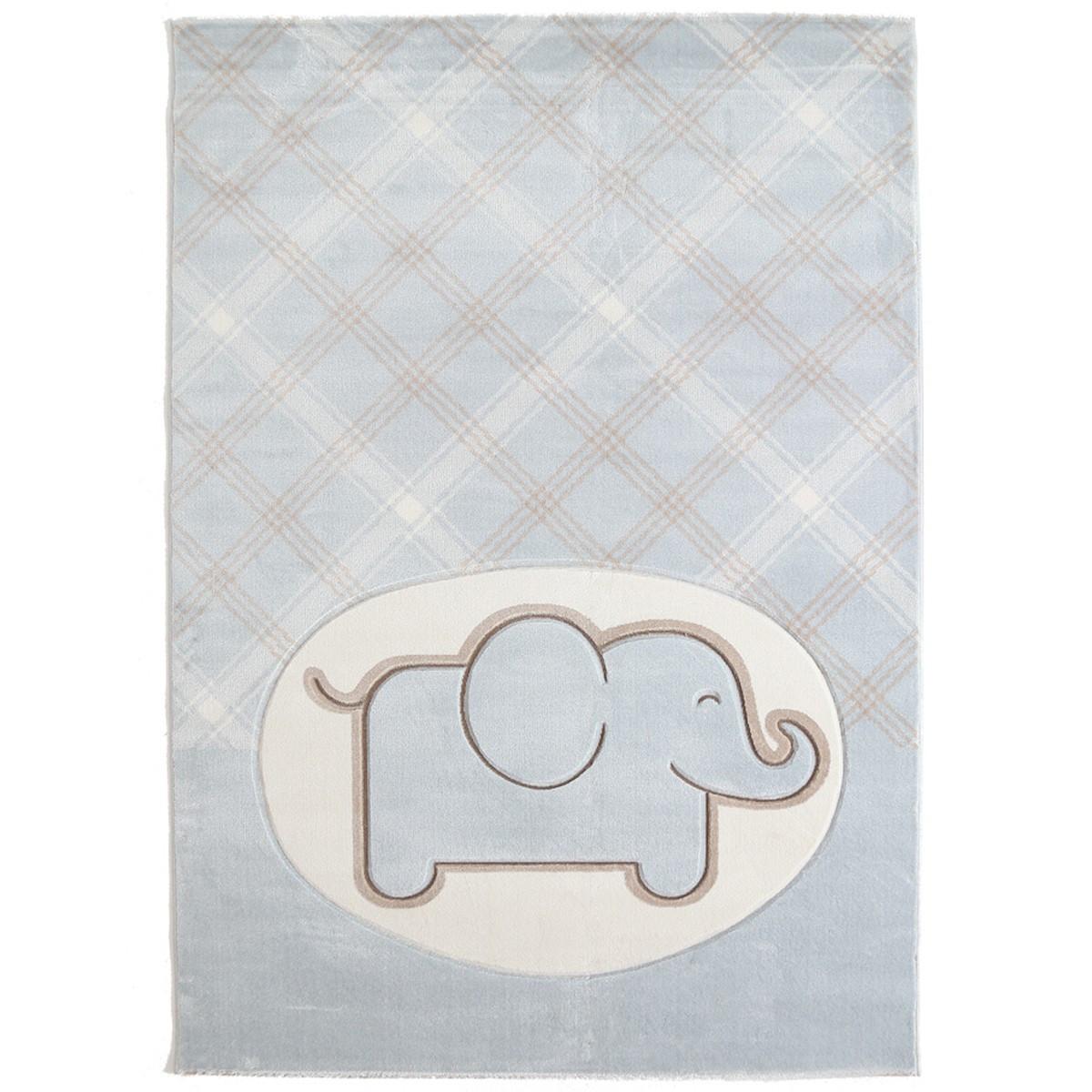 Παιδικό Χαλί (80x160) Royal Carpets Sky 6398A L.Blue
