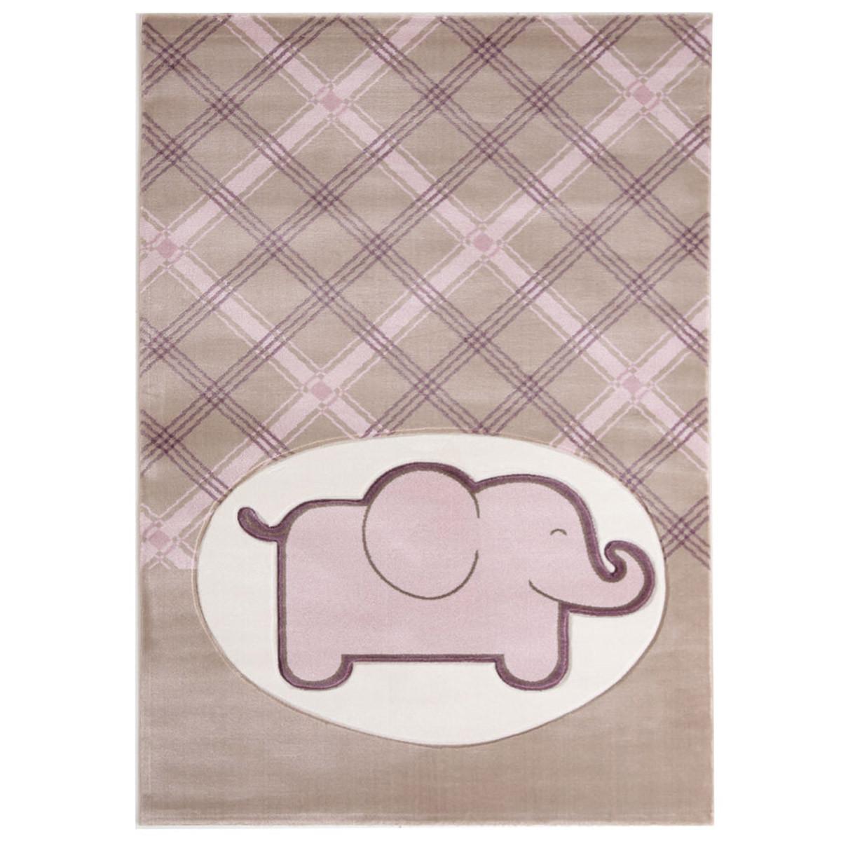 Παιδικό Χαλί (80x160) Royal Carpets Sky 6398D L.Beige Pink