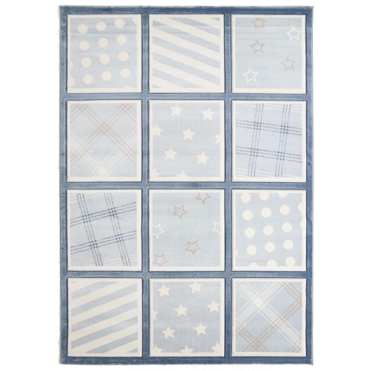 Παιδικό Χαλί (80x160) Royal Carpets Sky 6573A D.Blue