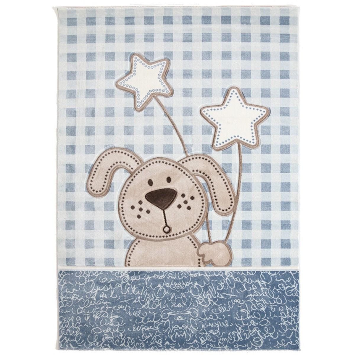 Παιδικό Χαλί (80×160) Royal Carpets Sky 6575A L.Blue