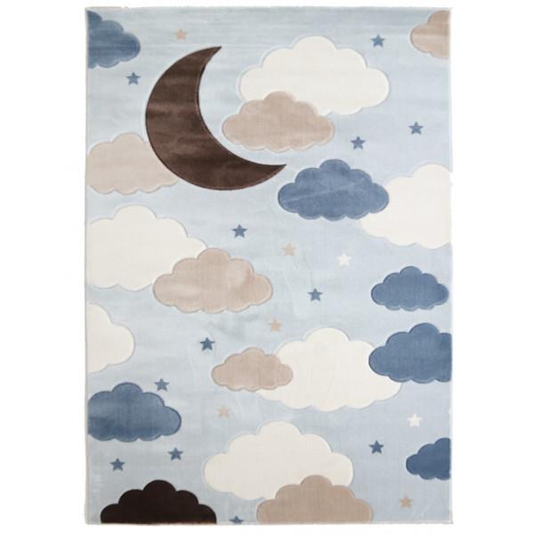 Παιδικό Χαλί (80x160) Royal Carpets Sky 6576A L.Blue