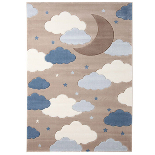 Παιδικό Χαλί (80x160) Royal Carpets Sky 6576A L.Beige