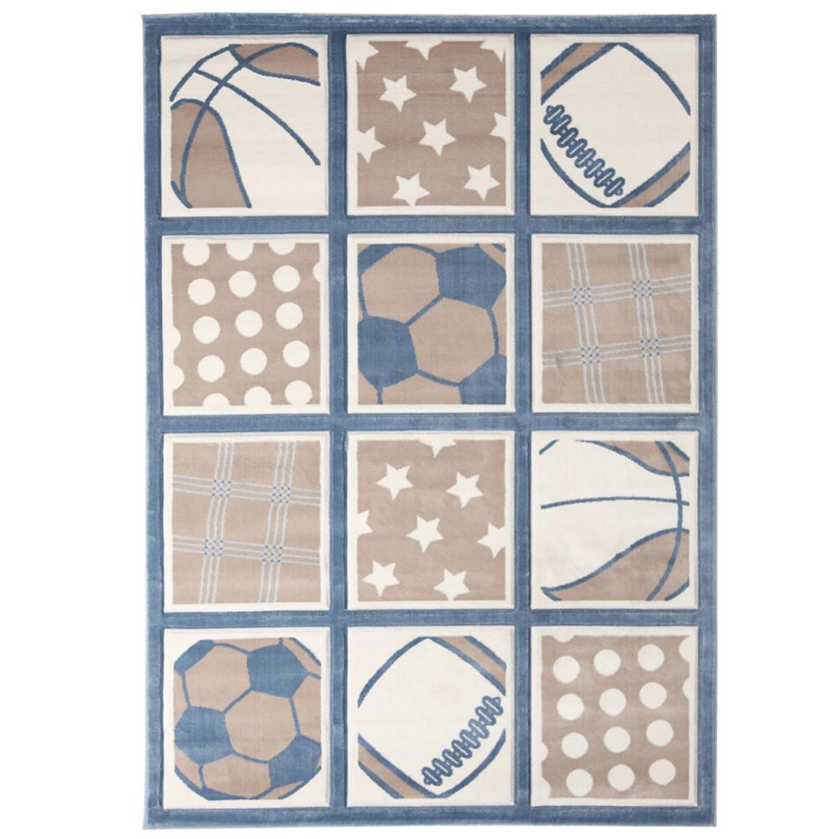 Παιδικό Χαλί (80x160) Royal Carpets Sky 7707A L.Beige