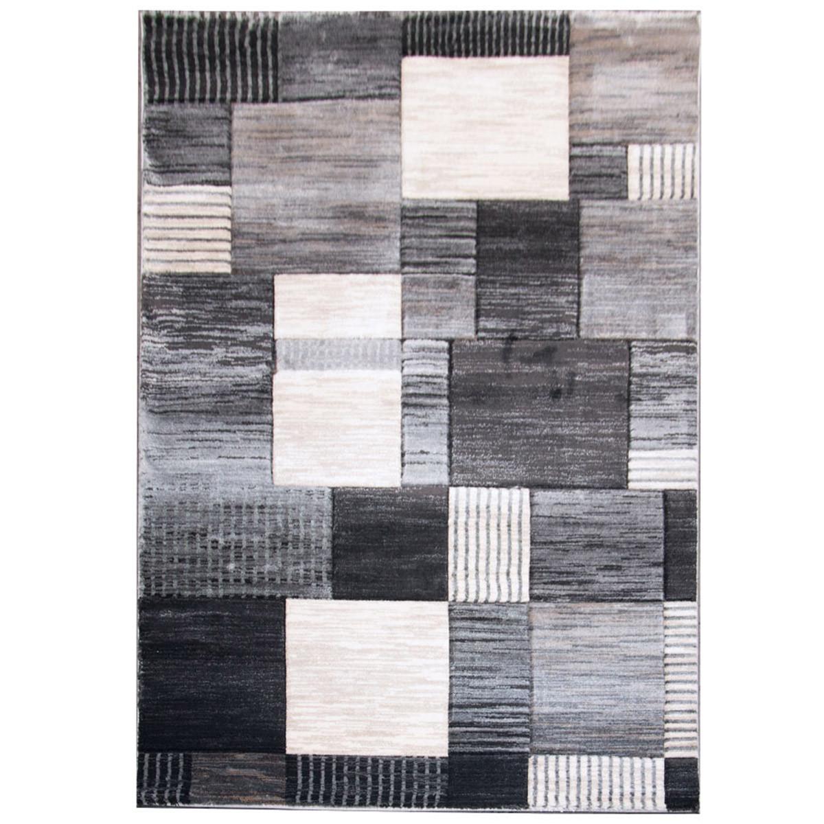 Χαλί (140×200) Royal Carpets Boston 4908A D.Grey