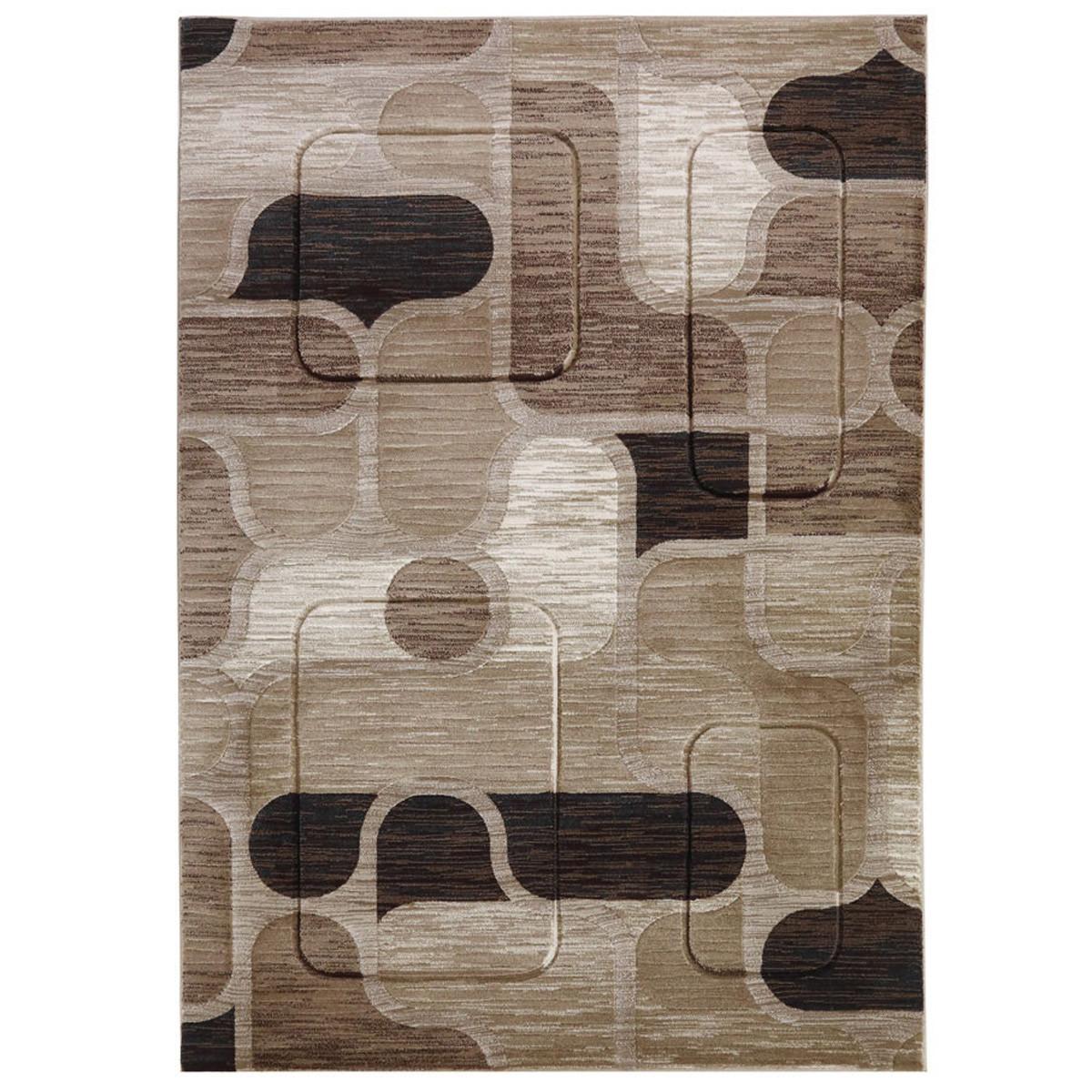 Χαλιά Κρεβατοκάμαρας (Σετ 3τμχ) Royal Carpets Boston 5353A Beige