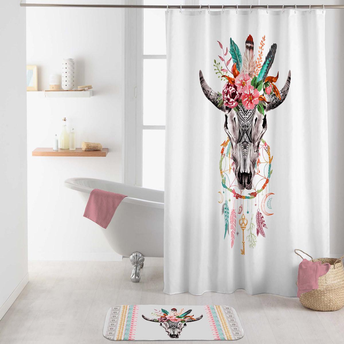 Κουρτίνα Μπάνιου (180×200) Buffle Spirit Sans 1800674