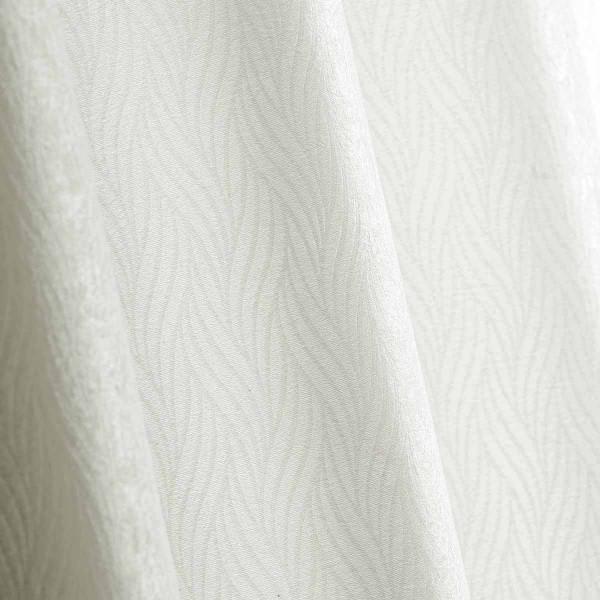 Κουρτίνα Blackout Βελουτέ (140x280) Με Τρουκς L-C Shadow Blanc 1607928